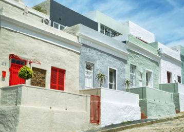 Colorful houses of Bo Kaap